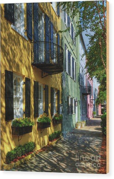 Colors Of Charleston 3 Wood Print