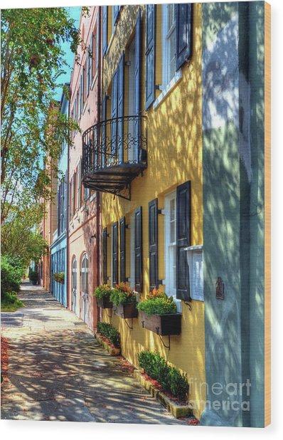 Colors Of Charleston 5 Wood Print