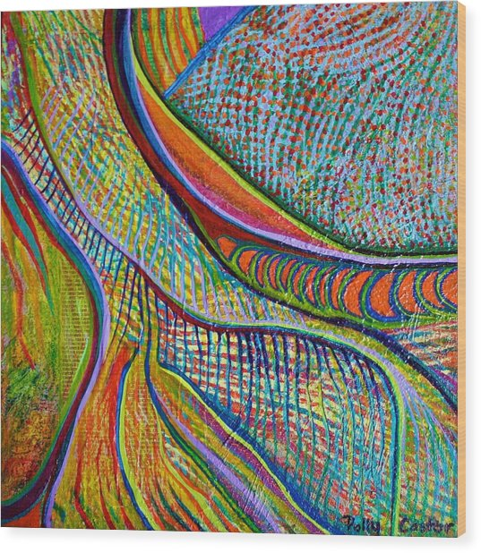 Colors Of Ridgefield Wood Print