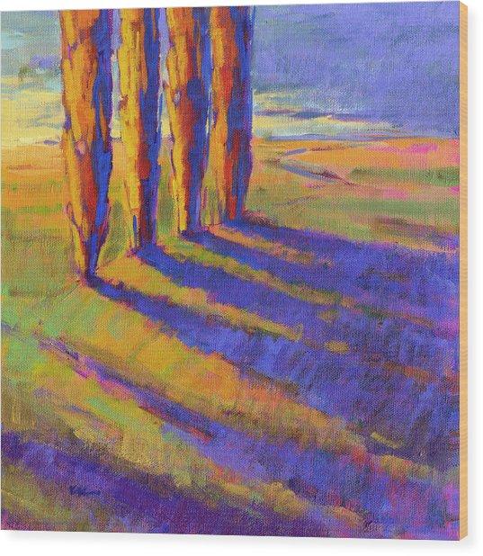 Colors Of Summer 5 Wood Print