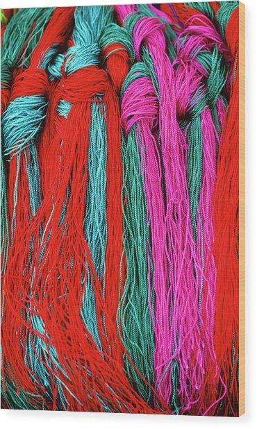 Colors Of Tibet Wood Print