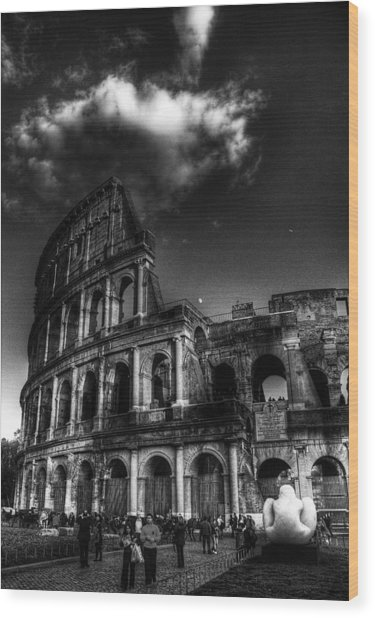Coloseo 2 Wood Print by Brian Thomson
