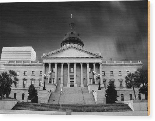 Columbia South Carolina State House Wood Print