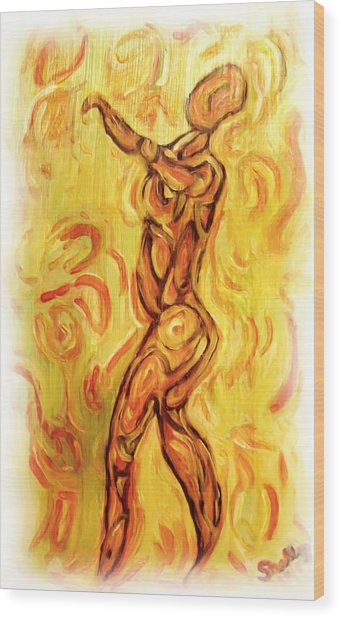 Come Dance With Me Wood Print by Shelley Bain