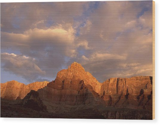 Commanche Point  Grand Canyon National Park Wood Print