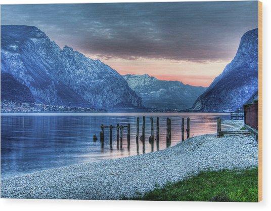 Como's Lake Wood Print