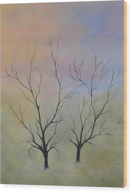 Companion To Dreaming Wood Print