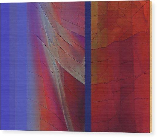 Composition 0310 Wood Print