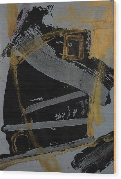 Composition 20186 Wood Print