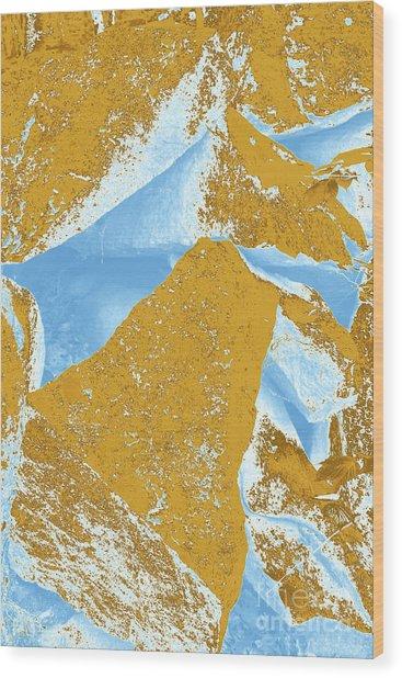 Composition Three Wood Print