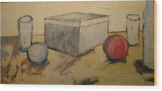 Composizione Wood Print by Biagio Civale