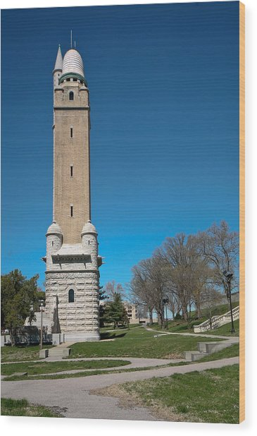 Compton Hill Water Tower-1 Wood Print
