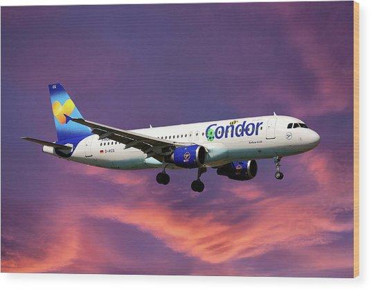 Condor Airbus A320-212 Wood Print