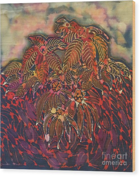 Coneflower Spirit Wood Print