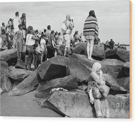 Coney Island, New York  #234972 Wood Print