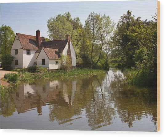 Constable Country The Hay Wain Wood Print