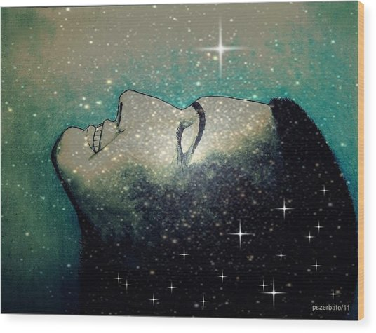 Constellation Of Dreams Wood Print