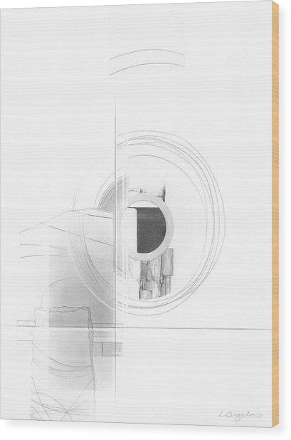 Construction No. 3 Wood Print