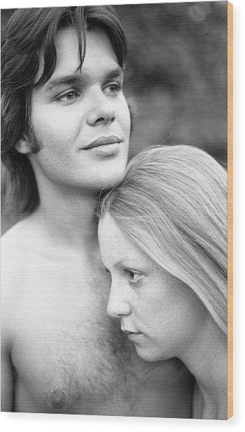 Contemplation, Part 1, 1973 Wood Print