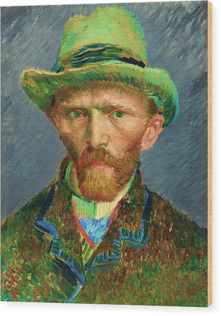 Contemporary 2 Van Gogh Wood Print