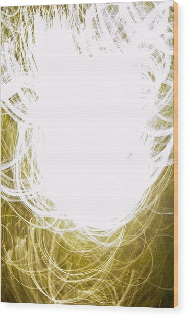 Contemporary Abstraction II Limited Edition 1 Of 1 Wood Print
