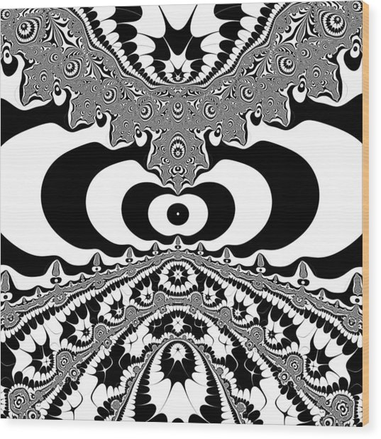 Conterialt Wood Print