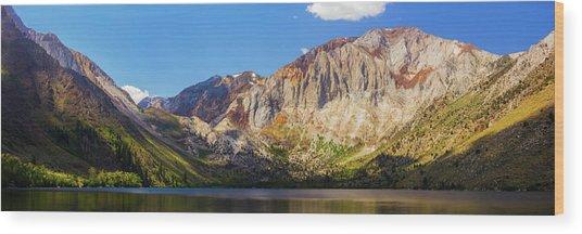 Convict Lake - Mammoth Lakes, California Wood Print