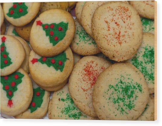 Cookies 103 Wood Print