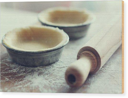 Cooking Wood Print by Enjoy!