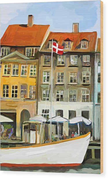Copenhagen Wood Print by Amarok A
