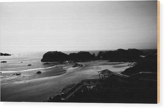 Coquille Point IIi Wood Print