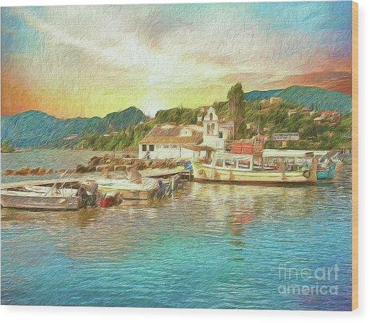 Corfu 30 My Passion Paintography Wood Print