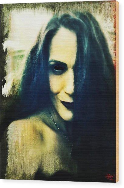 Corinne 3 Wood Print