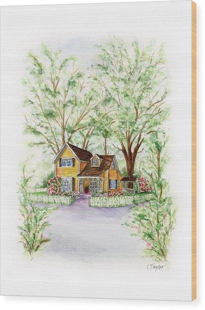 Corner Charmer Wood Print