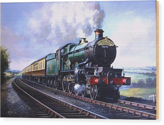 Cornish Riviera Express. Wood Print