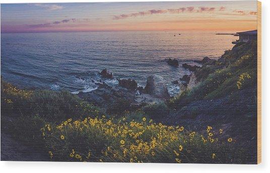Corona Del Mar Super Bloom Wood Print