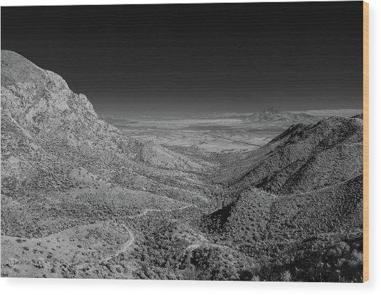 Coronado National Memorial In Infrared Wood Print
