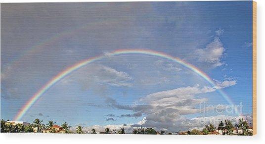 Coronado Rainbows Wood Print