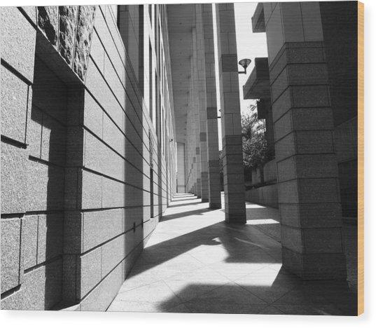 Corridor Wood Print