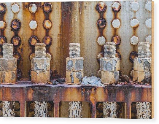 Corrosion Wood Print