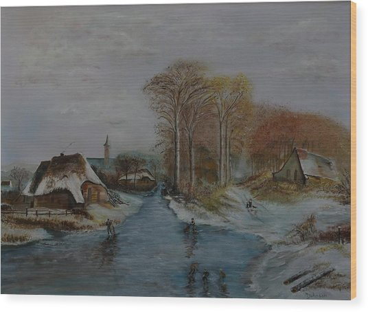 Cottage Country - Lmj Wood Print