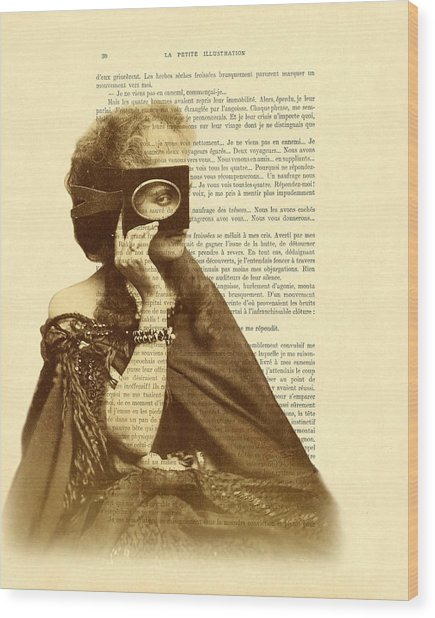 Countess Of Castiglione Wood Print