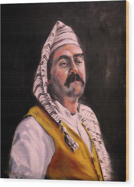 Country Man Wood Print