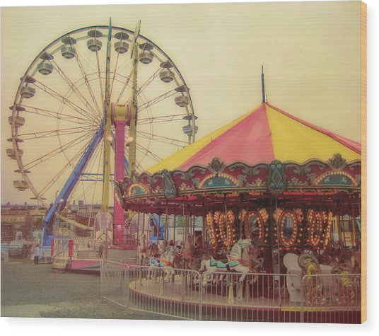 County Fair Wood Print by JAMART Photography