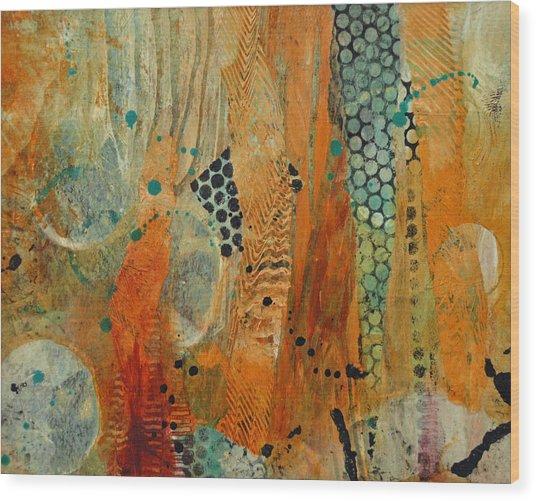 Courtship 1 Wood Print