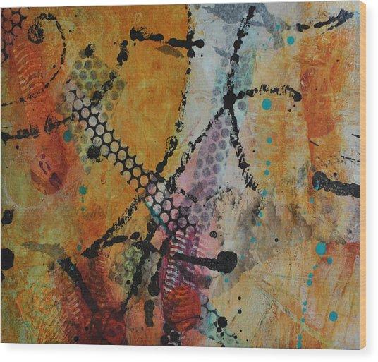 Courtship 4 Wood Print