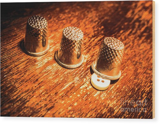 Crafty Alterations Wood Print