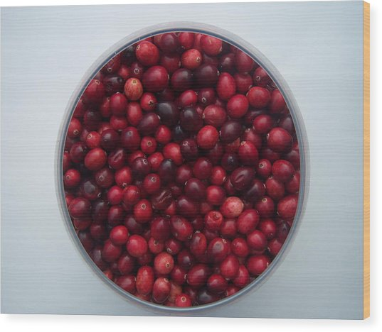 Cranberries Any One Wood Print