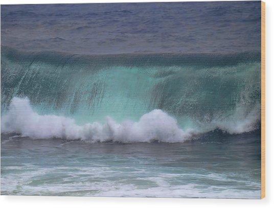 Crashing Wave Wood Print