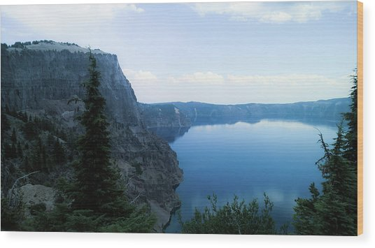 Wood Print featuring the photograph Crater Lake 3 by Pacific Northwest Imagery